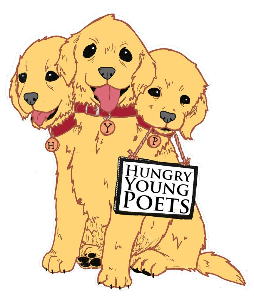 Hungry Young Poets Cerberus logo