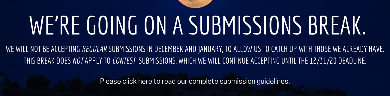Submissions Closing Soon